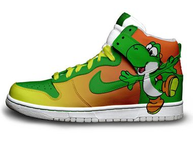 Nike Dunks Yoshi SB High Top Shoes [super-mario-shoes-1011] - $88.00 : DC  Comic Dunks ,Marvel Comic Dunks, Superhero Nike Dunks Shoes ,Superman  ,Batman ...