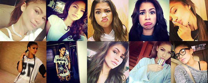 Zendaya es la verdadera reina de los selfies |FANSTUDIO