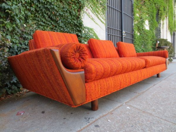 Chicago Bears Orange Couch!!