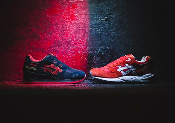 15f24a2b97bc Asics Lovers   Haters Pack (Gel Saga and Gel Lyte III)