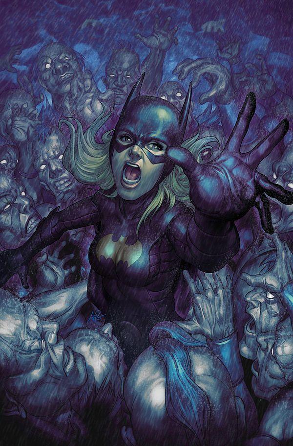 Illutration batgirl comicbook Artgerm