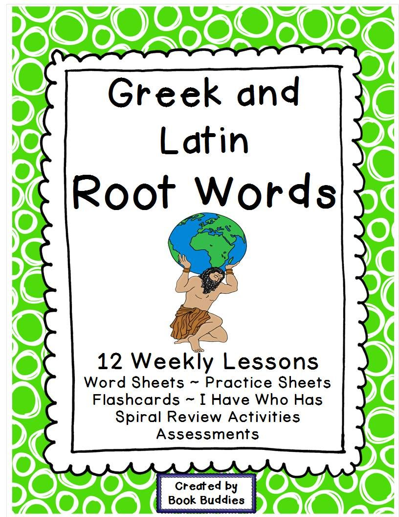 Worksheets Greek And Latin Roots Worksheet greek and latin root words reading comprehension print go study spiral review i have who