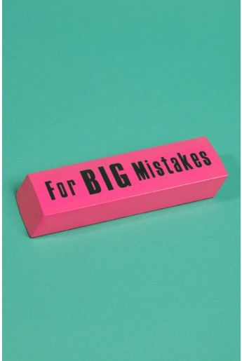XXL Eraser For Big Mistakes