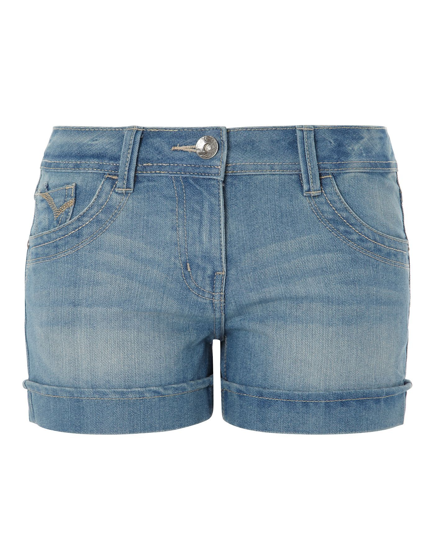 uk store factory outlet sale online Light Washed Denim Shorts | Women | George at ASDA | Denim shorts ...