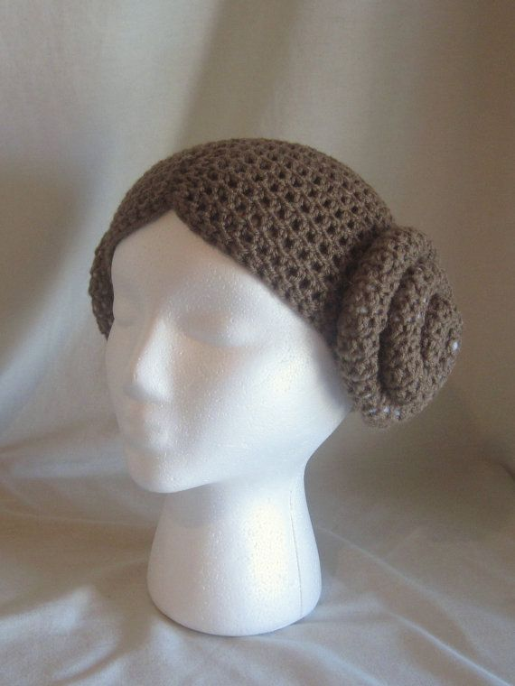 Princess Leia Hair Crochet Hat by lissa40511 on Etsy  7f36ac86db7
