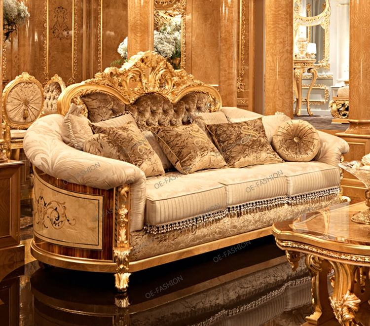 Oe Fashion Luxury Classic Italian Living Room European Wood Carving Sofa Set View Living Room Sofa Set Luxur Living Room Sofa Set Italian Living Room Sofa Set