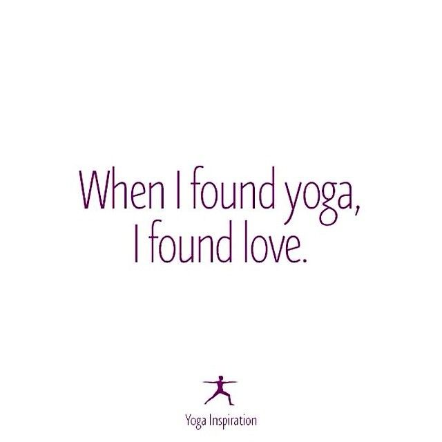 Yoga makes my heart smile <3