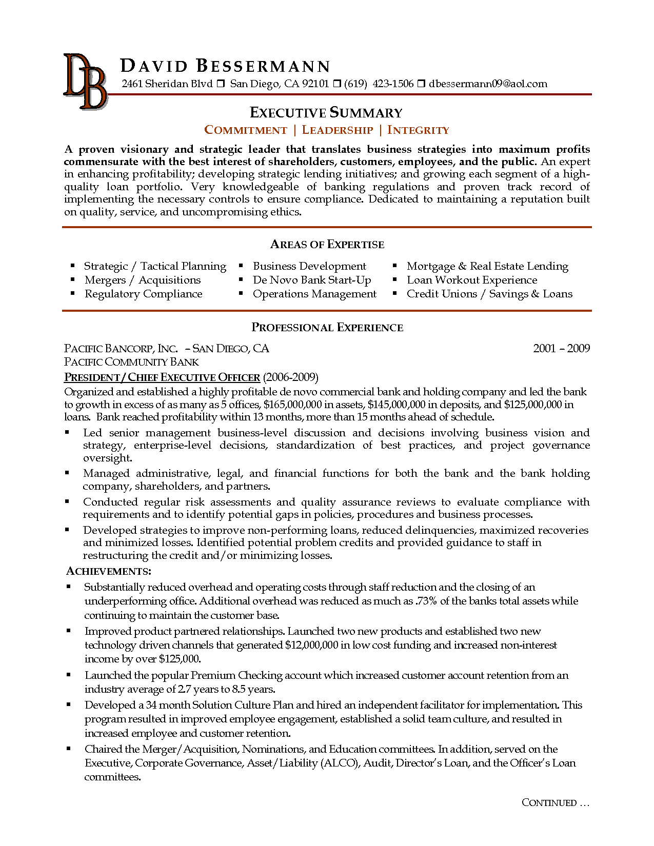resume summary examples template example for students grant anderson landscape architect