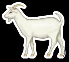 Goat Emojistickers Com Animaux De La Ferme Animaux Stikers