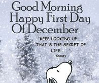 Good Morning Happy First Day Of December Stars Pinterest Hello