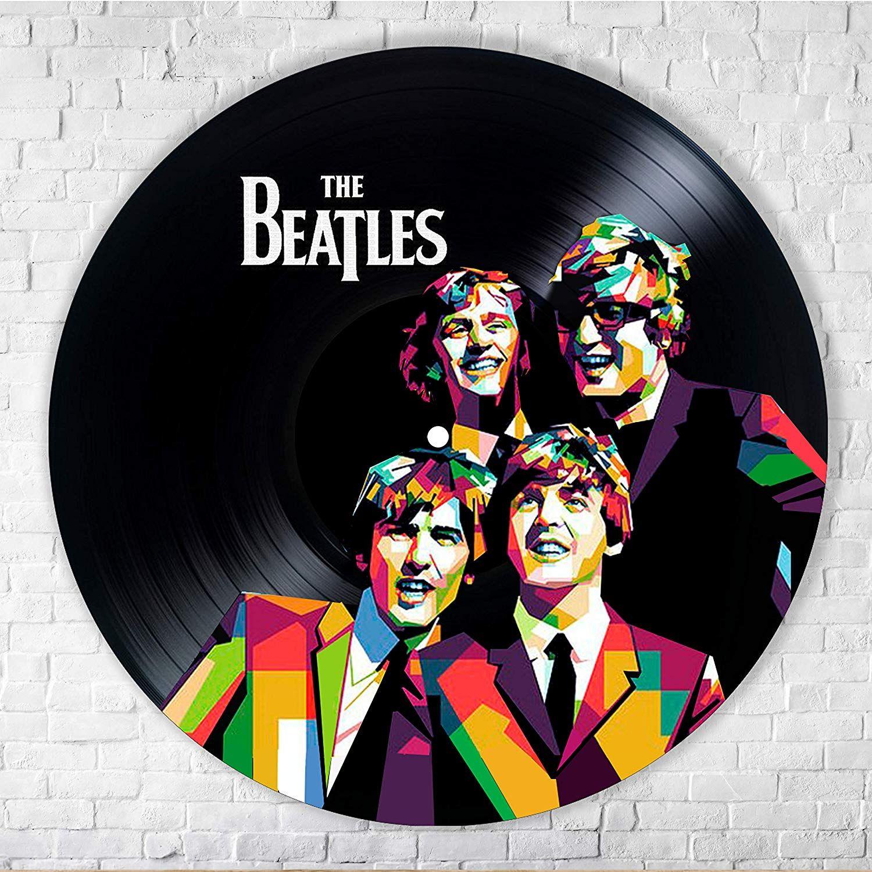 The Beatles D Atilde Copy Cor Vinyl Painted Wall Art Decor Beatles
