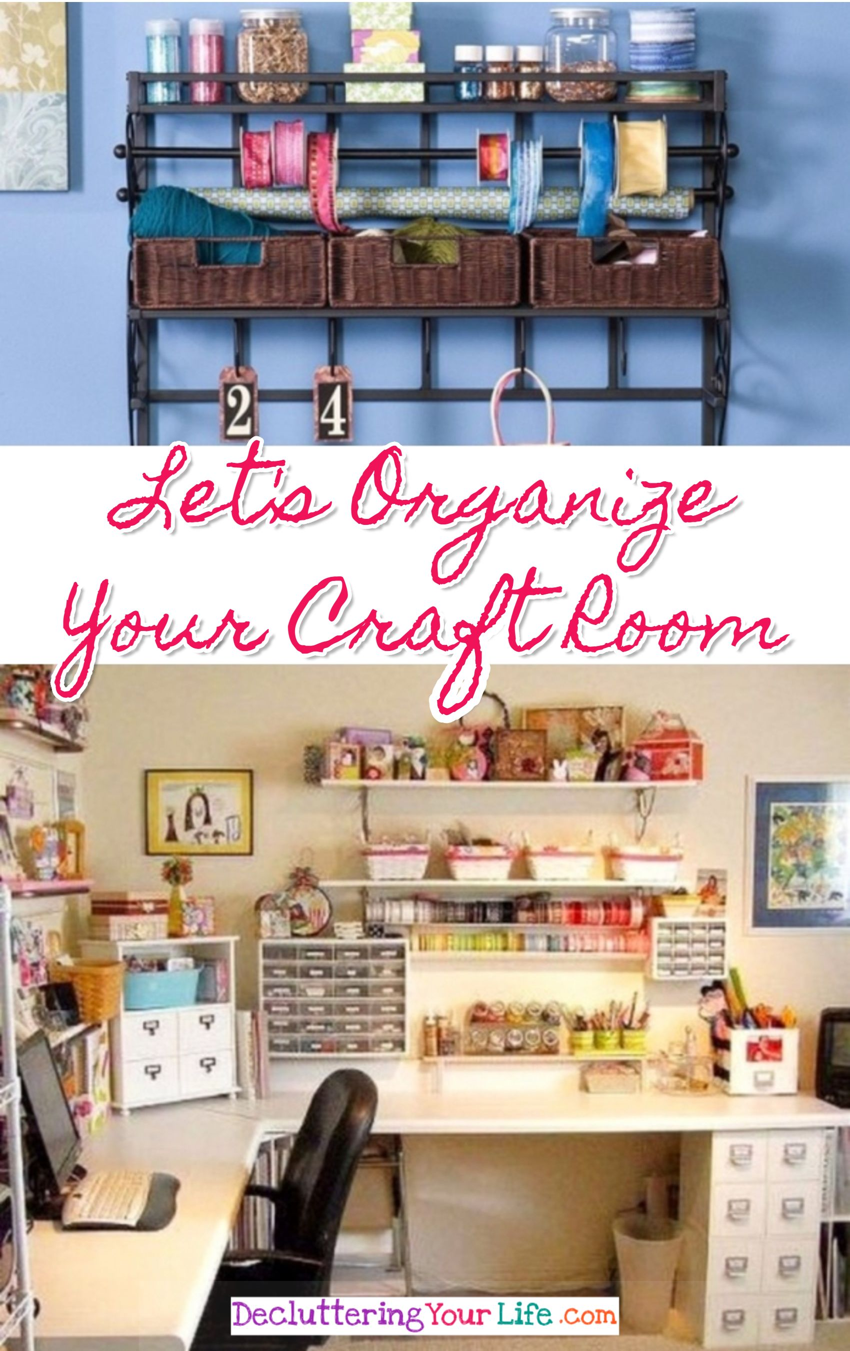 Gorgeous Craft Rooms Craft Room Organizing Ideas Even For Small