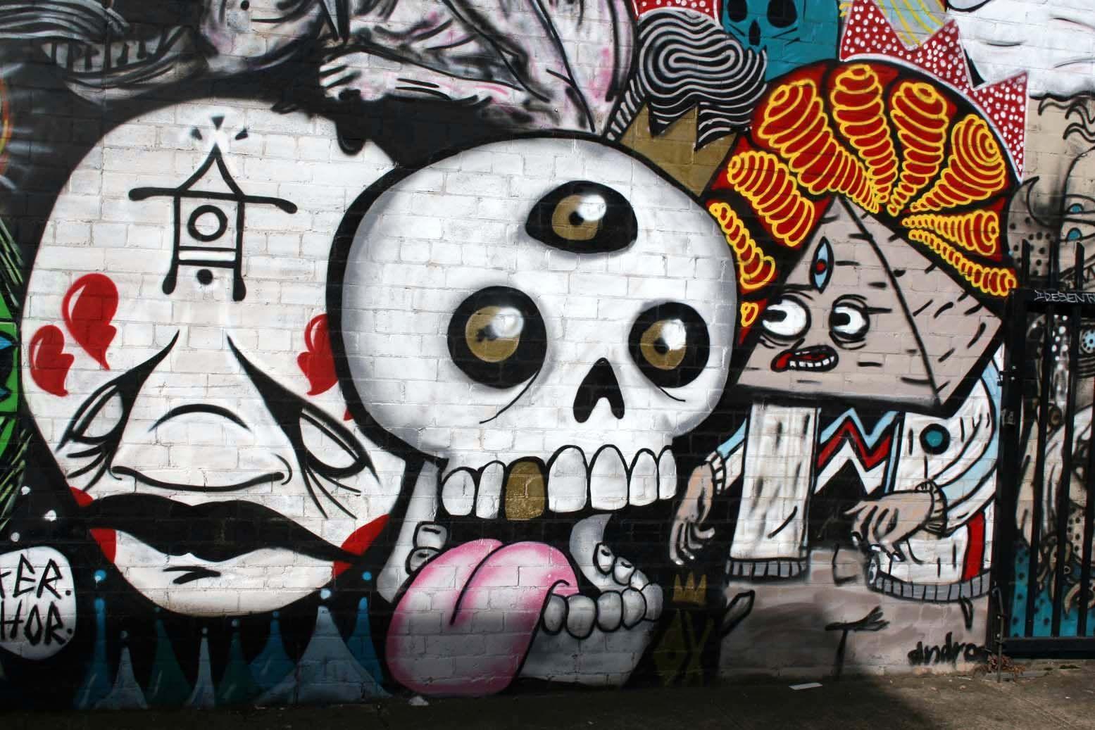 Graffiti Bilder Zeichnen Leicht
