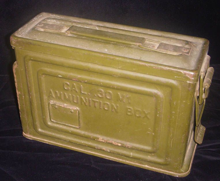 WWII  30 Caliber M1 Ammo Can for Browning M1917 A-1 M G  and