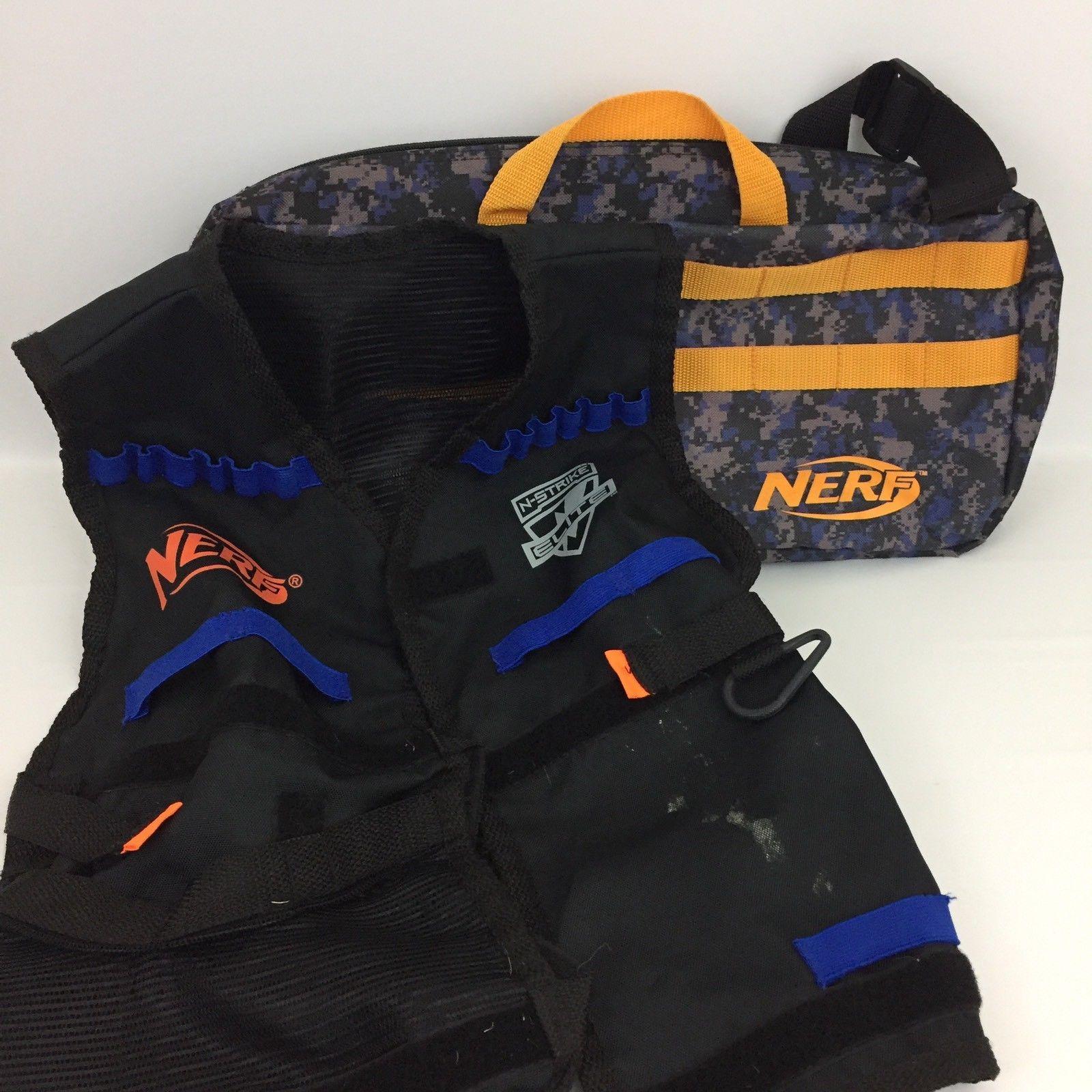 Nerf Gun Ammo Dart Duffle Bag and Tactical Vest N1
