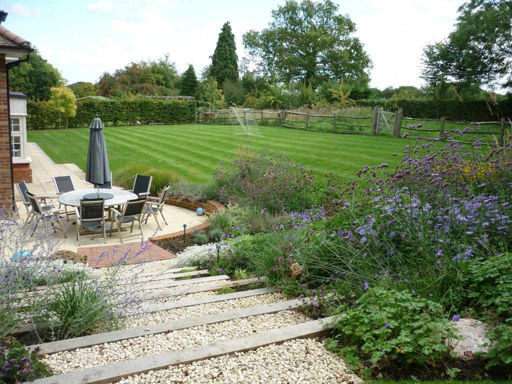 Garden design Rickmansworth, Hertfordshire | Nowoczesny