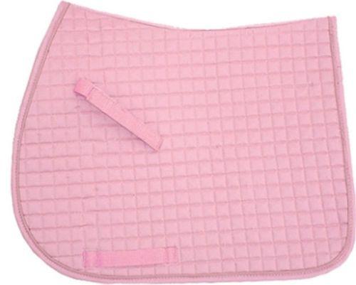 Baby Pink English Saddle Pad In 3 Sizes Dressage All Purpose Pony Dressage Saddle Pad Saddle Pads English Saddle Pads