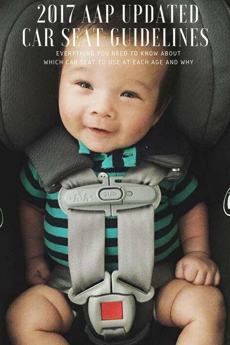 Listen Up, Parents: AAP Announces New Car Seat Guidelines | Car seat ...