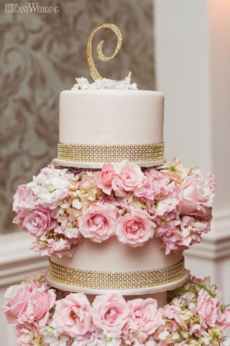 Pretty Pink Wedding On Jersey Shore Wedding Cake Cake And Wedding