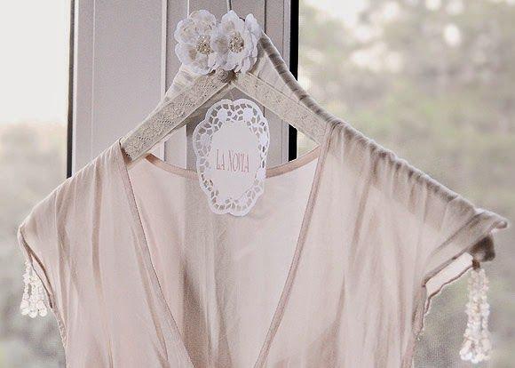 Bodas Cucas: DIY: Haz tu propia percha para el vestido de novia