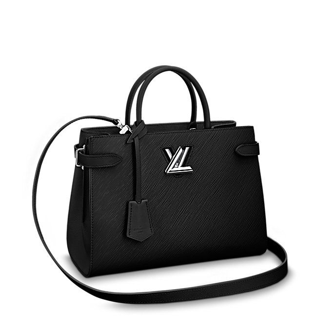 4da6e8d639a5d4 Twist Tote Louis Vuitton Boots, Louis Vuitton Clutch, Louis Vuitton Handbags  Black, Women's