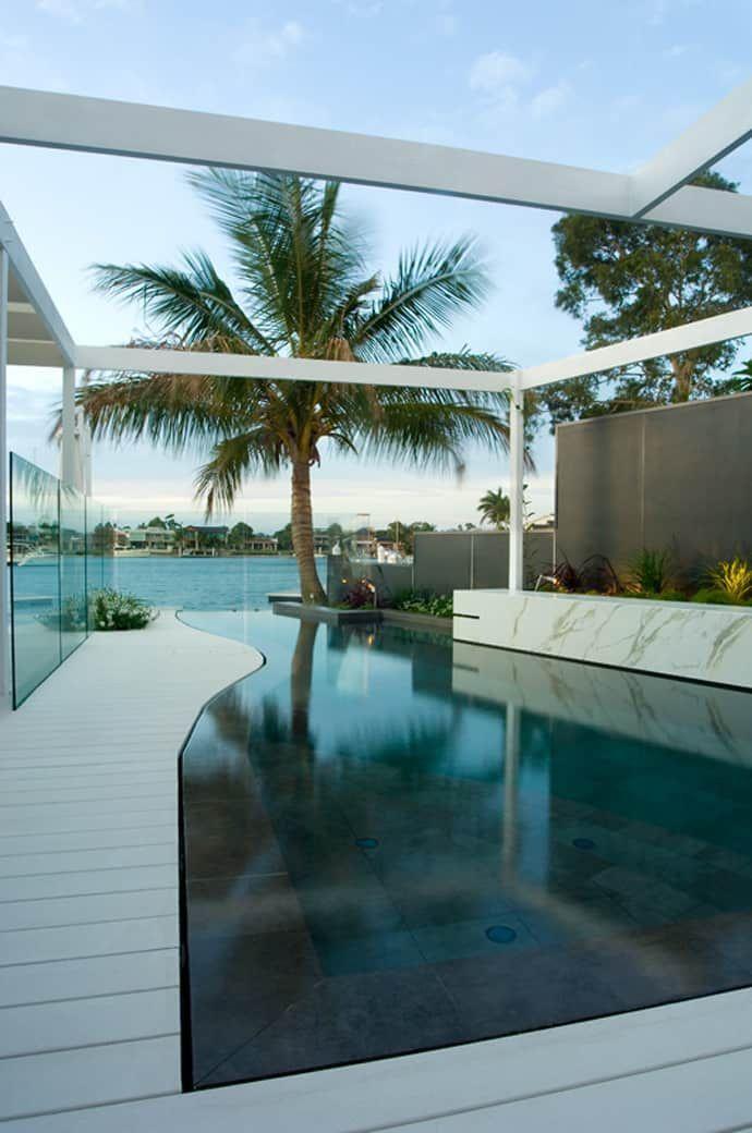 pool designrulz 23 modernpoolarchitecture modernpoolhall traumwohnung pinterest. Black Bedroom Furniture Sets. Home Design Ideas