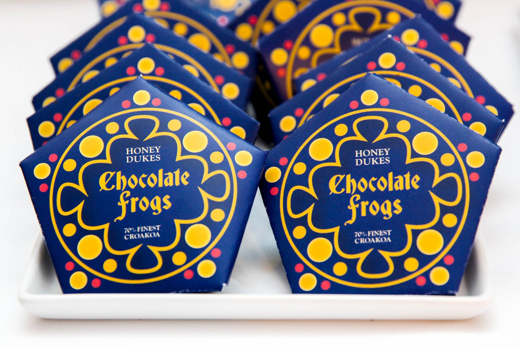 Harry Potter Chocolate Frogs Free Printable Template For Diy Honeydukes Chocolate Frogs Chocolate Frog Harry Potter Free Box Template
