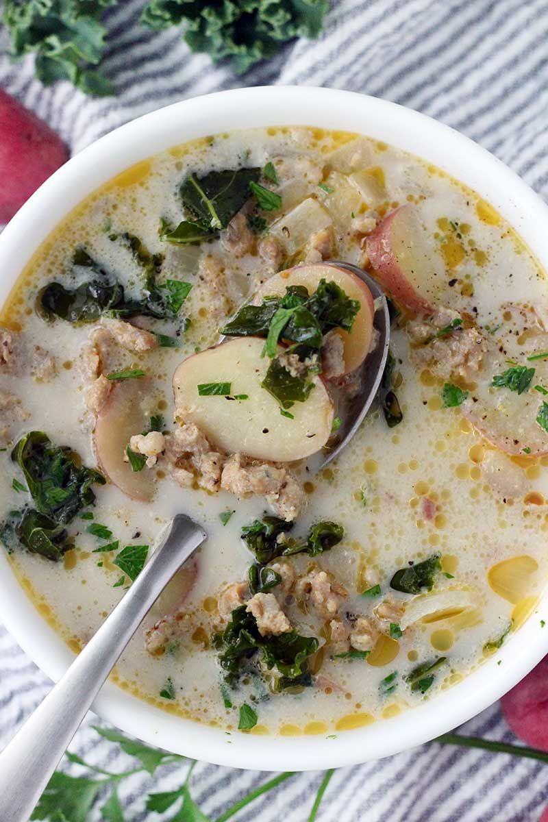 Zuppa Toscana (Olive Garden Copycat) Recipe Kale soup