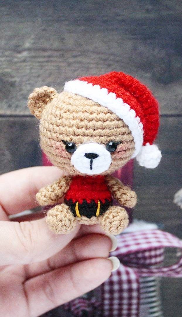 How to Crochet a Bear - Crochet Ideas #stuffedtoyspatterns
