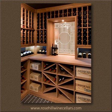 The Perfect Custom Designed Wine Room With A Window Winestorage