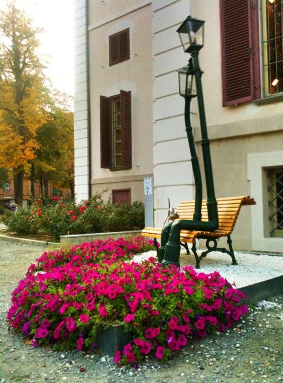 Parco Rignon Villa Amoretti Torino Scultura Di Rodolfo Living In Italy Italy Turin