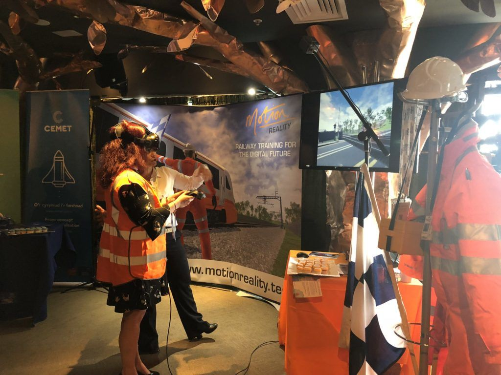 New Virtual Reality Experiences To Improve Rail Safety For