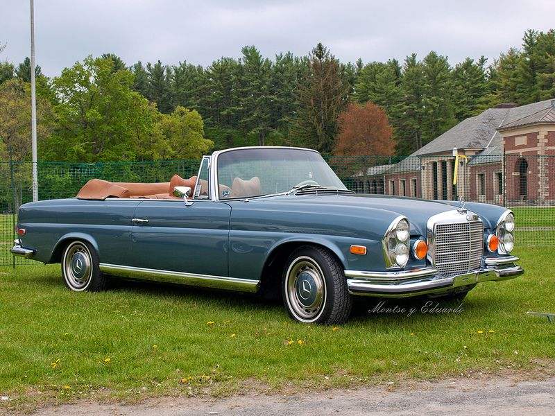 Pin On Mercedes S Class W111 Cabriolet