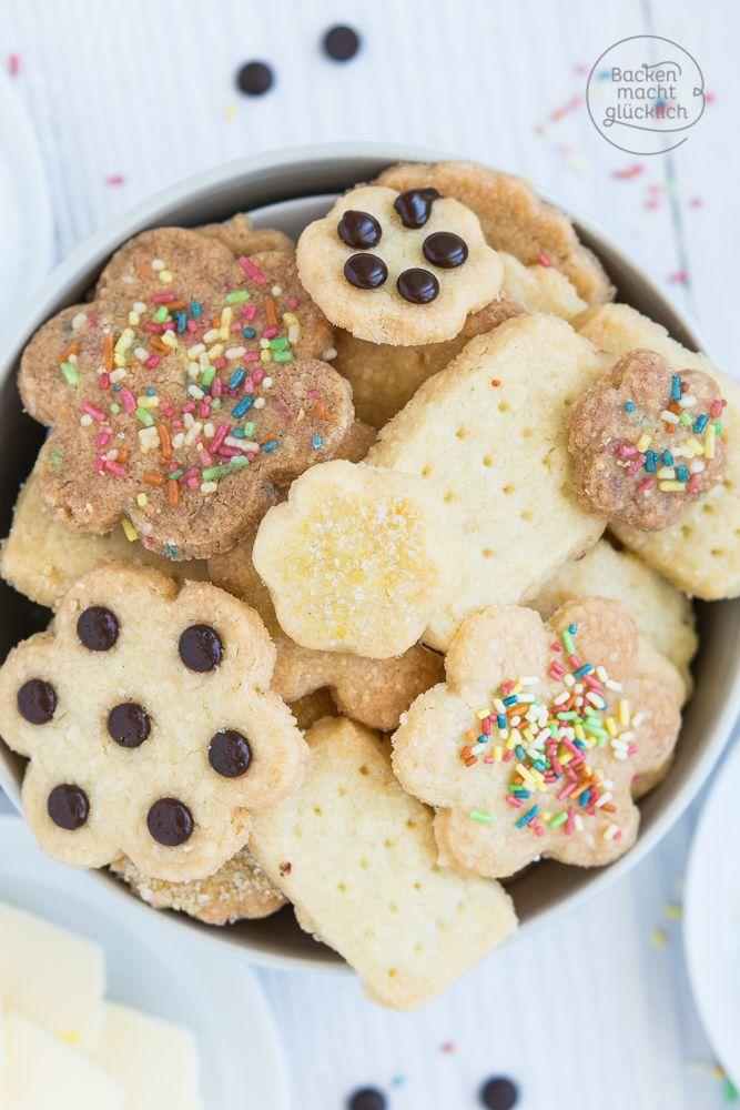 Schnelle 3-Zutaten-Kekse   Backen macht glücklich #kekseweihnachtenkinder