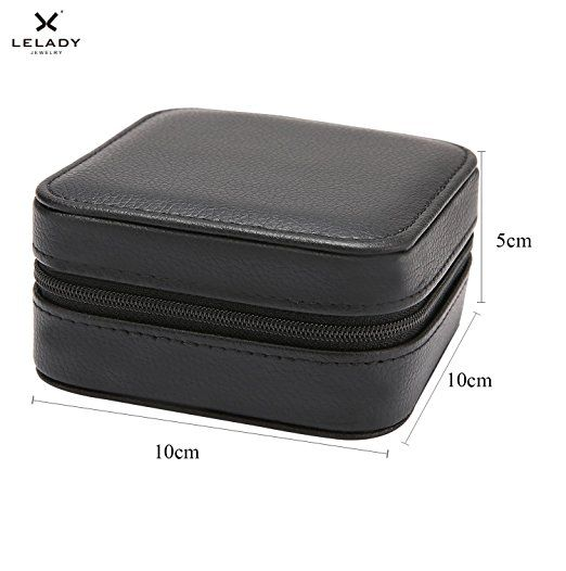 LELADY Small Jewelry Box Portable Travel Jewelry Case travel jewelry