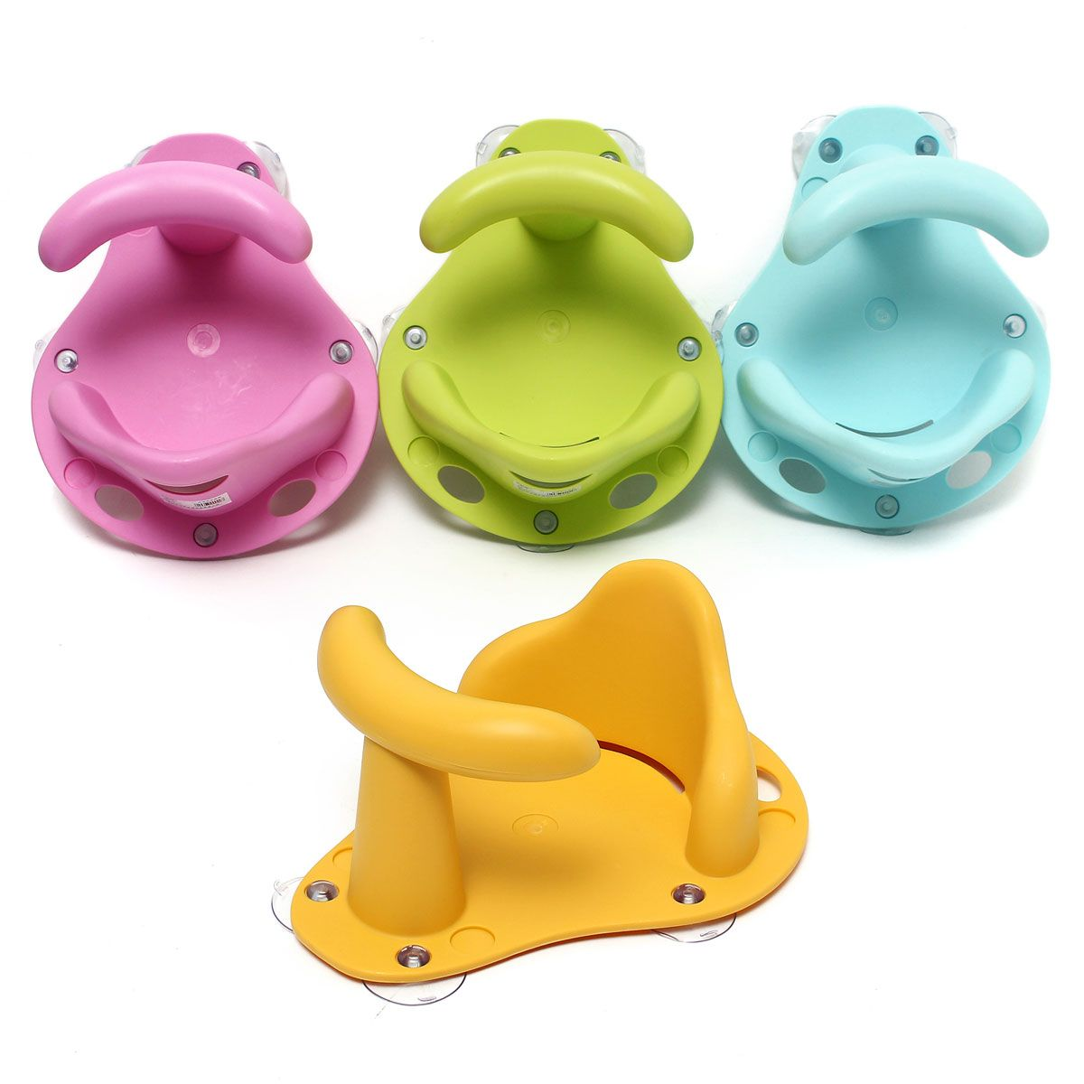 4 colors baby bath tub ring seat infant children shower toddler 4 colors baby bath tub ring seat infant children shower toddler kids anti slip security safety