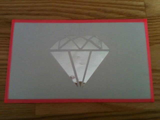 Diamant, papirklip