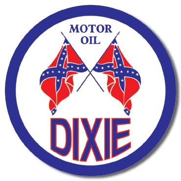 Dixie Motor Oil | Automobile Signs | Tin Signs | Wall Decor ...