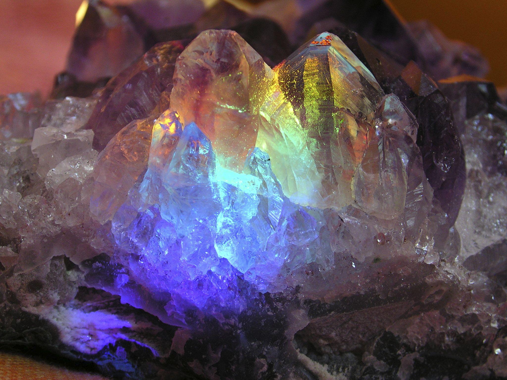 Magical magical crystals.