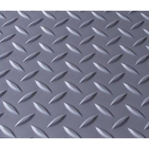 Checker Plate PVC Rubber Garage Flooring httprubberflooringsco