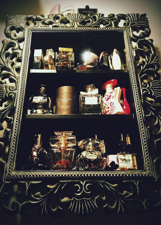 Baroque Wall Shelf for my perfume storage. I\'m going to need to ...