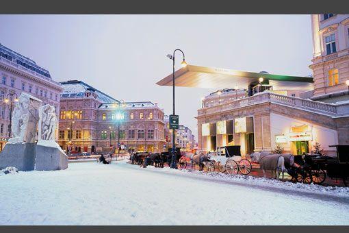 Vienna in winter - Viena en invierno