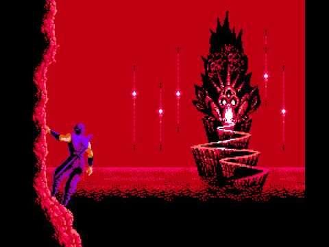 Ninja Gaiden 2 The Dark Sword Of Chaos Nes 2nd Castle Cutscene