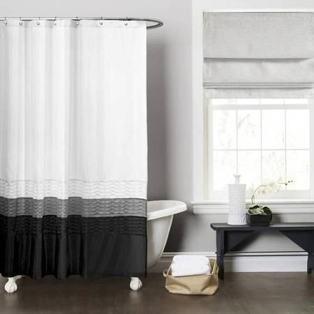 Home Decorating Bathroom Shower Curtains Gray Shower Curtains