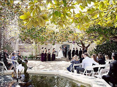 Memory Garden Wedding Venue in Monterey CA 93940 | Weddings and