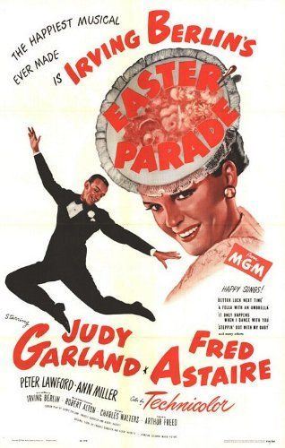 Directed by Charles Walters.  With Judy Garland, Fred Astaire, Peter Lawford, Ann Miller. A nightclub performer hires a naive chorus girl to become his new dance partner to make his former partner jealous and to prove he can make any partner a star.