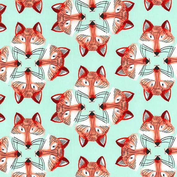 Out Foxed In Mist Foxy Fellas Collection For Michael Miller Fabrics 100 Premium Cotton 44 45 Wide This Lis Michael Miller Fabric Michael Miller Fox Fabric