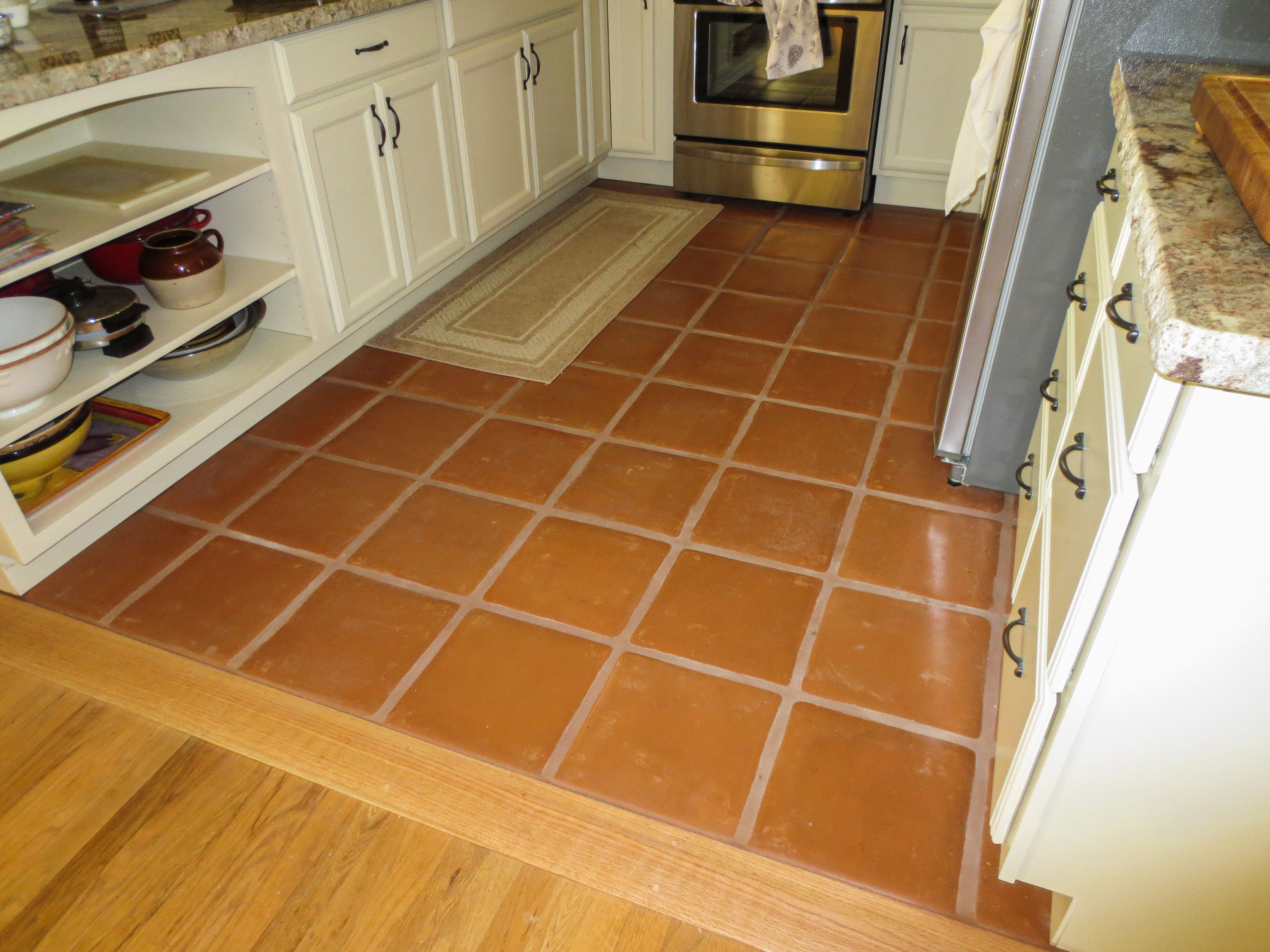 12 X 12 Terra Cotta Paver Floor Tile Floor Flooring Shower Floor Tile