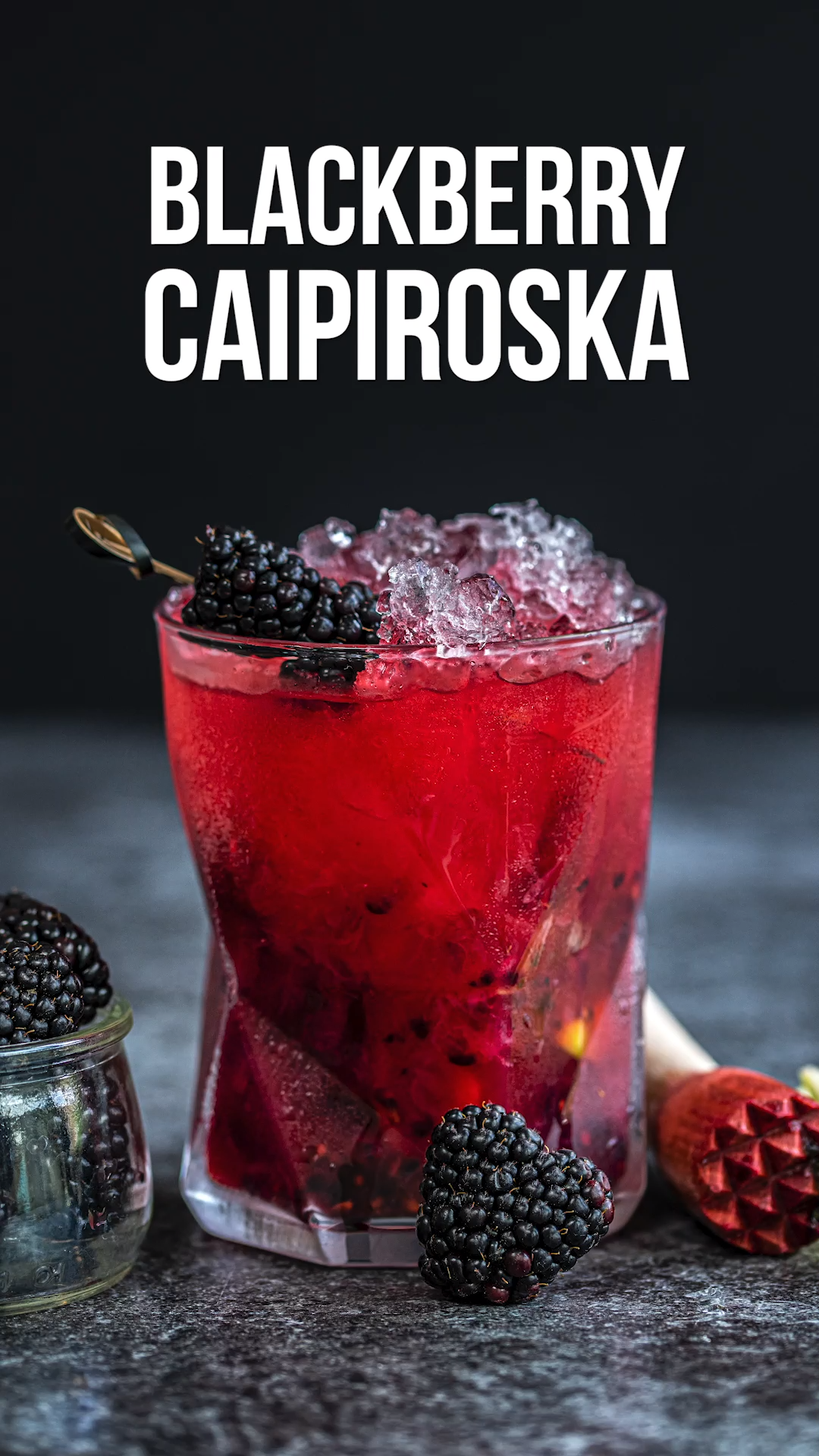 Blackberry Caipiroska