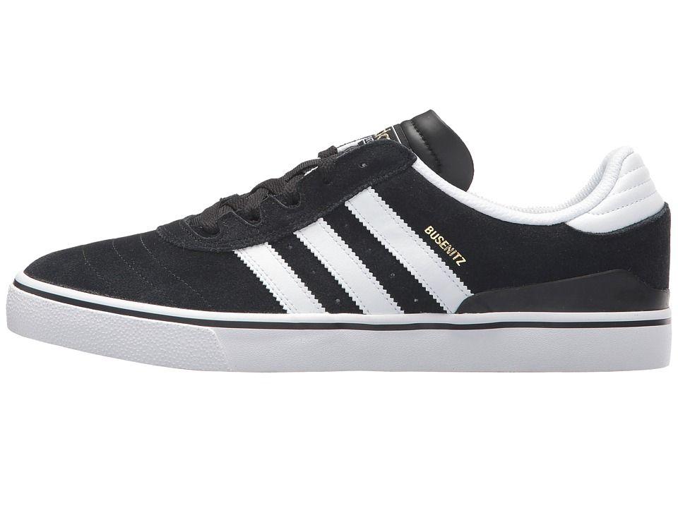 adidas Skateboarding Busenitz Vulc Men's Skate Shoes Black